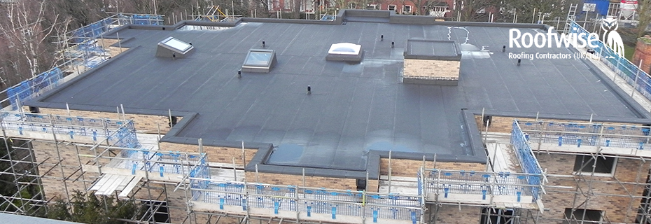 Insulated felt roof systems